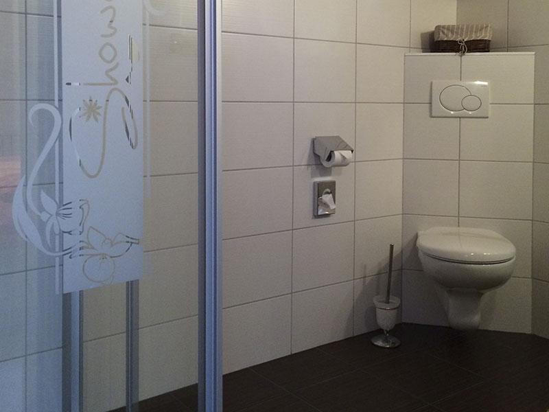 [Translate to en:] Badezimmer – Appartement Bergzauber