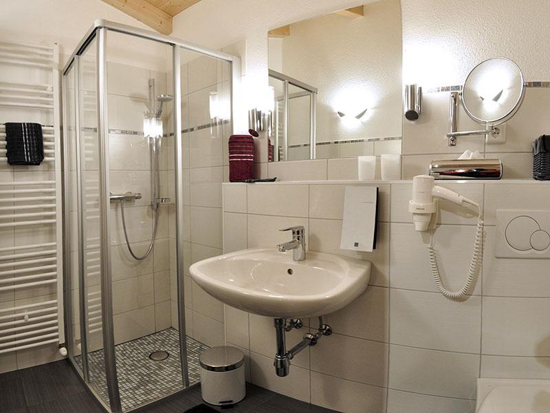 [Translate to en:] Badezimmer Appartement Ferienglück