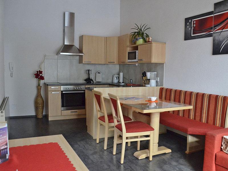 [Translate to en:] Küche Appartement Ferienglück