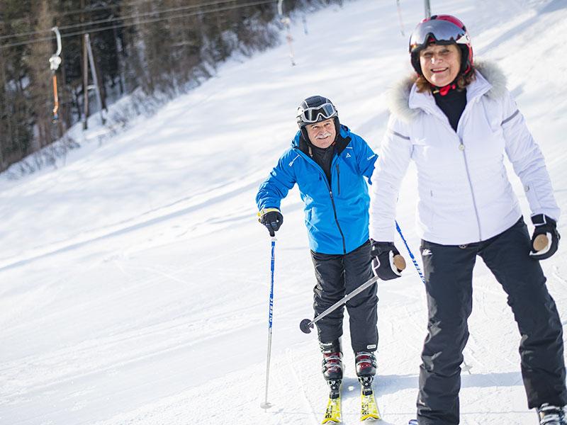 Skifahren in Niederthai
